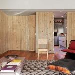 adelaparvu.com despre apartament modern cu pereti imbracati in lemn, arhitecti Veridiana Tamburus si Fabio Storrer (12)