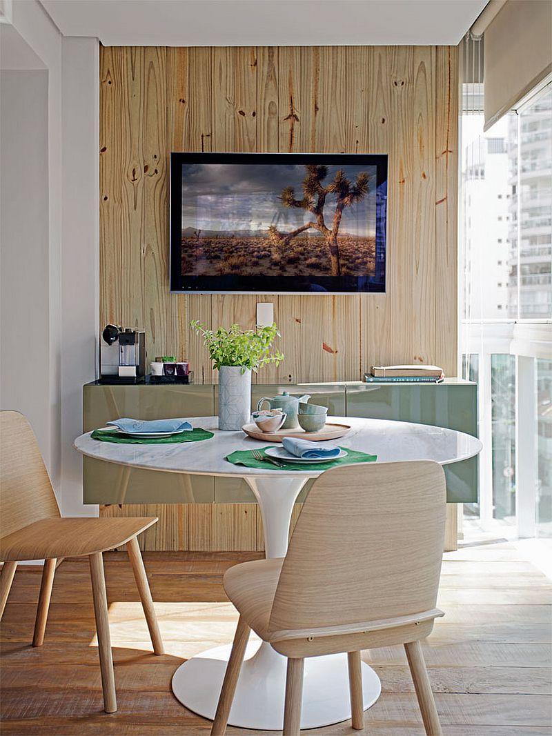 adelaparvu.com despre apartament modern cu pereti imbracati in lemn, arhitecti Veridiana Tamburus si Fabio Storrer (14)