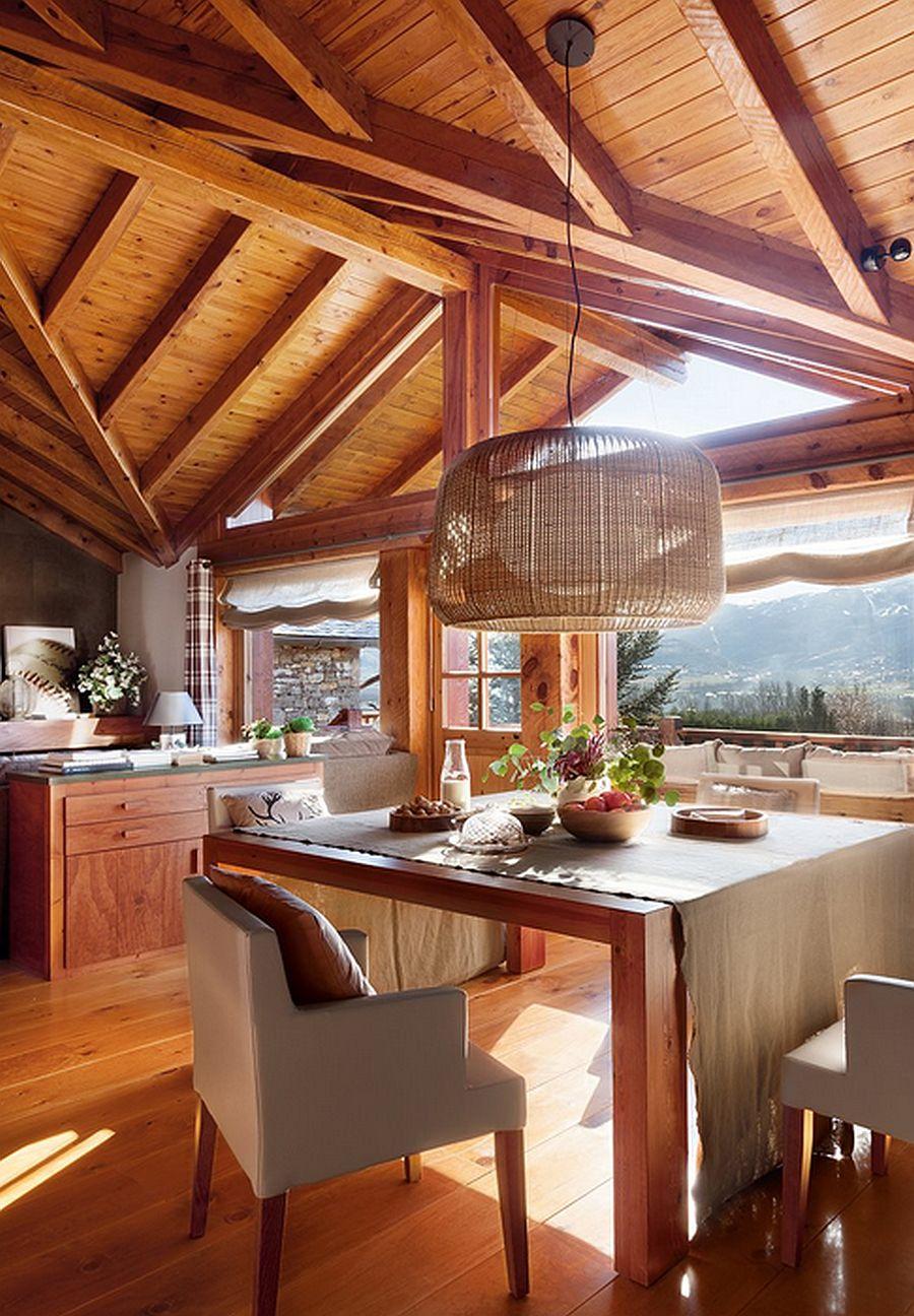 adelaparvu.com despre cabana de munte, casa din lemn Spania, Foto ElMueble, Integrapir (10)