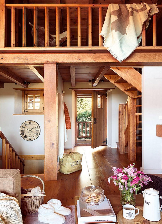 adelaparvu.com despre cabana de munte, casa din lemn Spania, Foto ElMueble, Integrapir (16)