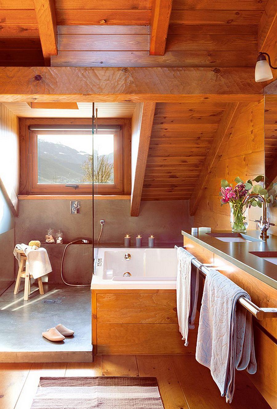 adelaparvu.com despre cabana de munte, casa din lemn Spania, Foto ElMueble, Integrapir (17)
