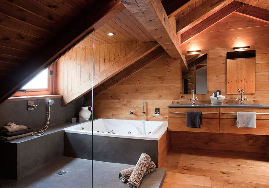 adelaparvu.com despre cabana de munte, casa din lemn Spania, Foto ElMueble, Integrapir (21)