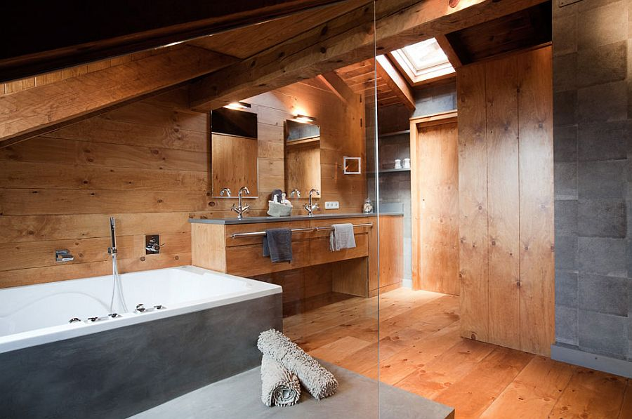 adelaparvu.com despre cabana de munte, casa din lemn Spania, Foto ElMueble, Integrapir (22)