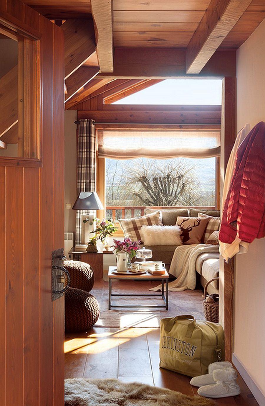 adelaparvu.com despre cabana de munte, casa din lemn Spania, Foto ElMueble, Integrapir (3)