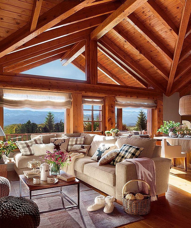 adelaparvu.com despre cabana de munte, casa din lemn Spania, Foto ElMueble, Integrapir (4)