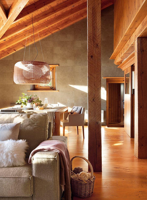 adelaparvu.com despre cabana de munte, casa din lemn Spania, Foto ElMueble, Integrapir (9)