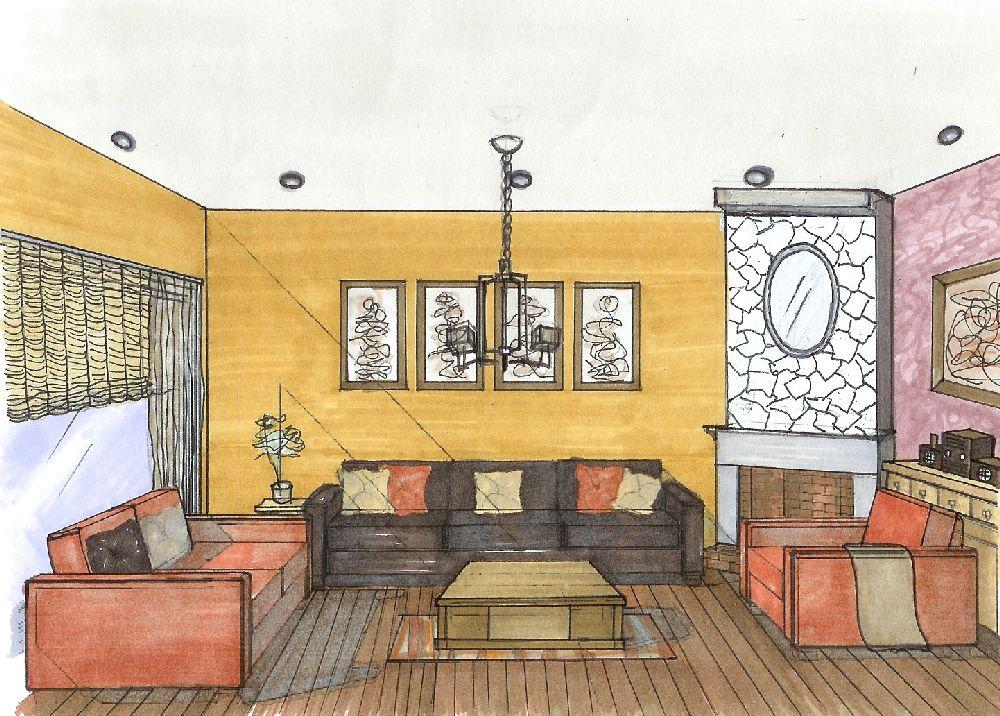 adelaparvu.com despre cum se lucreaza cu un designer de interior si cat costa, Proiectul (13)