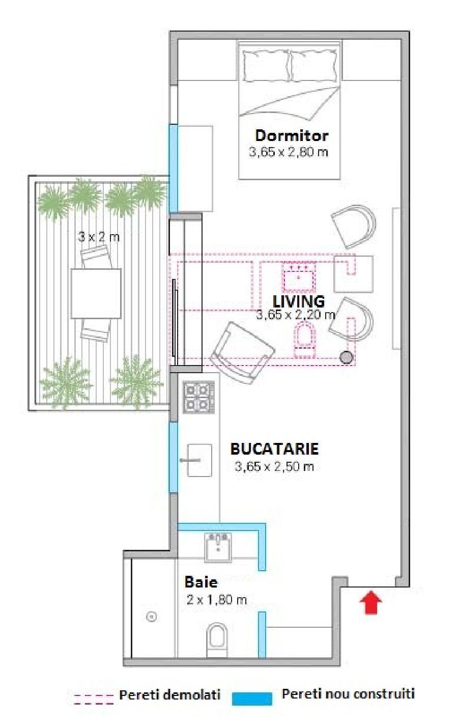 adelaparvu.com despre locuinta 44 mp cu spect de loft, garsoniera, arhitecti Escala Arquitectura, Andre Passini, Foto Juliano Colodeti (11)