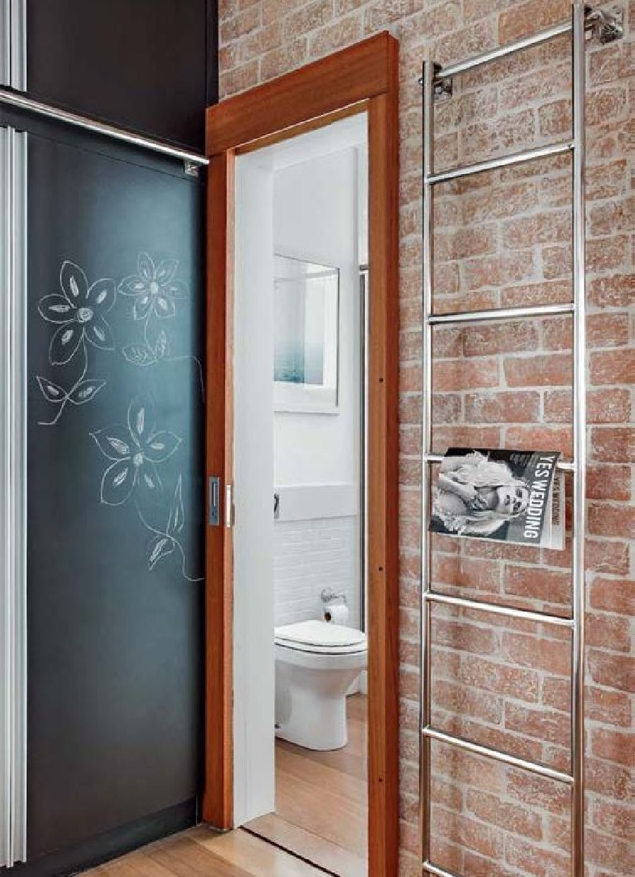 adelaparvu.com despre locuinta 44 mp cu spect de loft, garsoniera, arhitecti Escala Arquitectura, Andre Passini, Foto Juliano Colodeti (6)