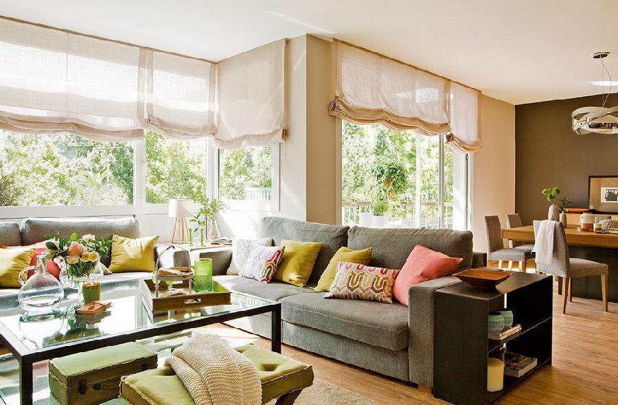 adelaparvu.com despre apartament cu trei camere pentru o familie cu doi copii, design interior Elena Rodríguez, Pler Interioristas, Foto ElMueble (1)
