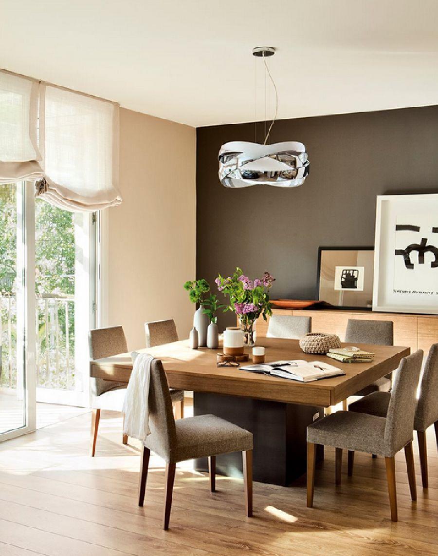 adelaparvu.com despre apartament cu trei camere pentru o familie cu doi copii, design interior Elena Rodríguez, Pler Interioristas, Foto ElMueble (3)