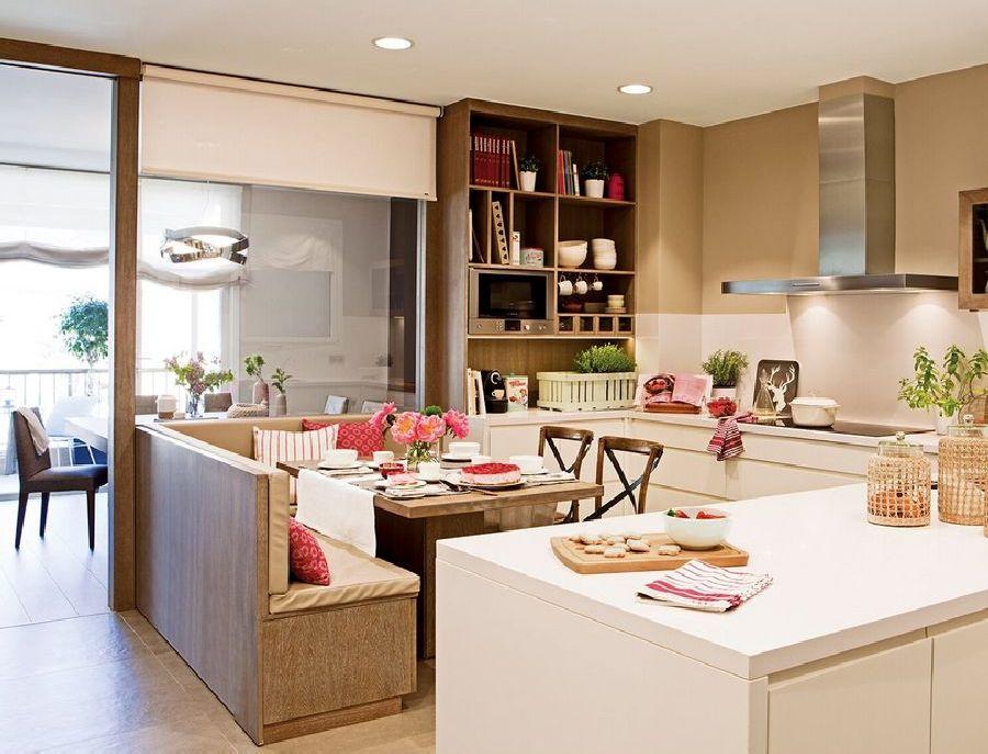 adelaparvu.com despre apartament cu trei camere pentru o familie cu doi copii, design interior Elena Rodríguez, Pler Interioristas, Foto ElMueble (50)