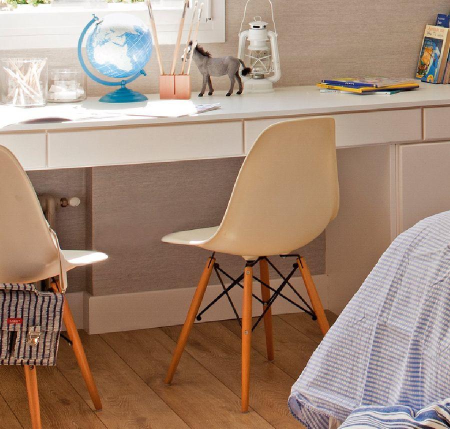 adelaparvu.com despre apartament cu trei camere pentru o familie cu doi copii, design interior Elena Rodríguez, Pler Interioristas, Foto ElMueble (8)
