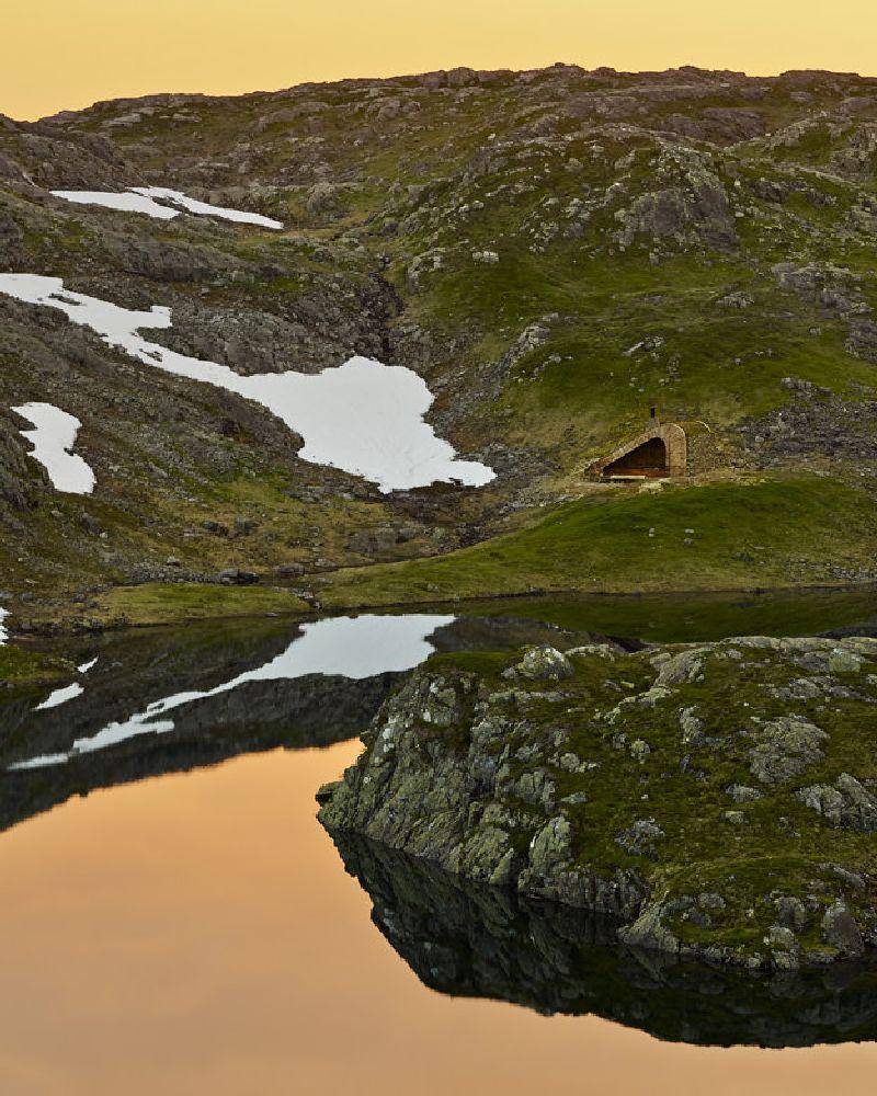 adelaparvu.com despre cabana 35 mp in Etne, Hordaland, Norvegia  arhitectura Snohetta (13)