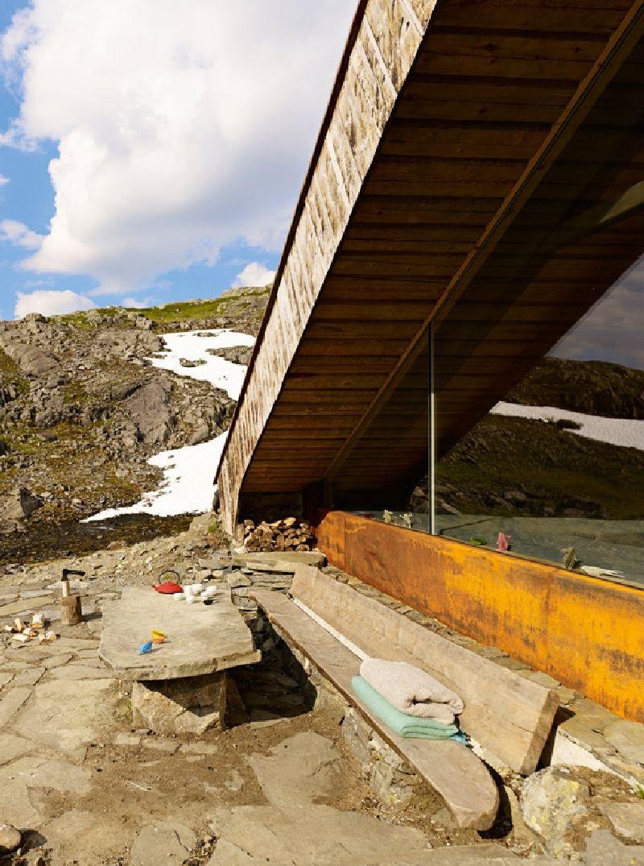 adelaparvu.com despre cabana 35 mp in Etne, Hordaland, Norvegia  arhitectura Snohetta (2)