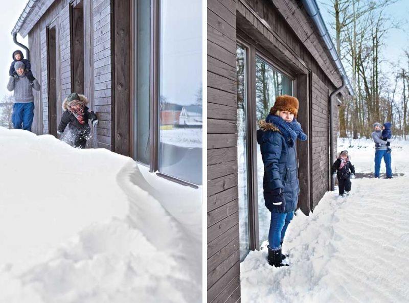 adelaparvu.com despre casa actuala cu aspect rustic la exterior, 130 mp, design interior chic2chic, Foto Michael Mrowiec (25)