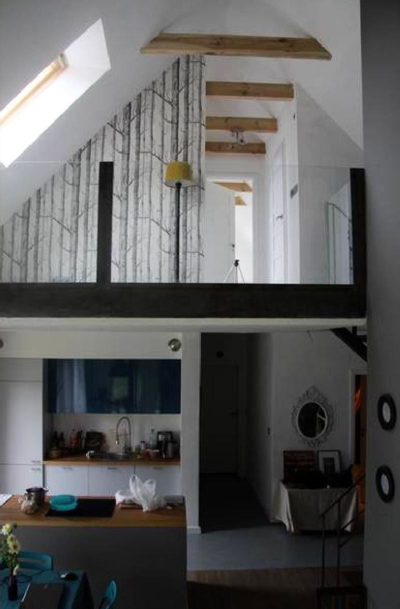 adelaparvu.com despre casa actuala cu aspect rustic la exterior, 130 mp, design interior chic2chic, Foto Michael Mrowiec (26)