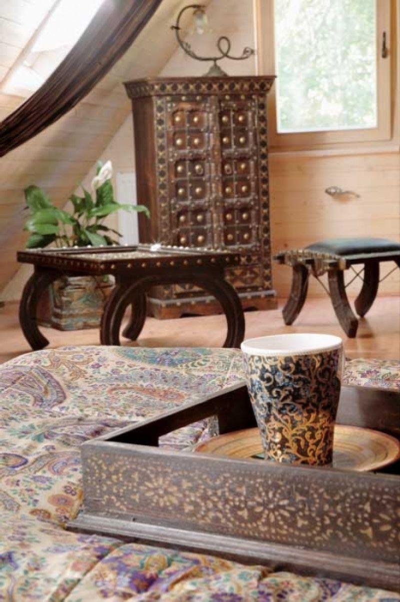 adelaparvu.com despre casa din lemn cu interior oriental, design interor Alice Kolodzie, Foto Marta Czynska, Weranda Country (16)