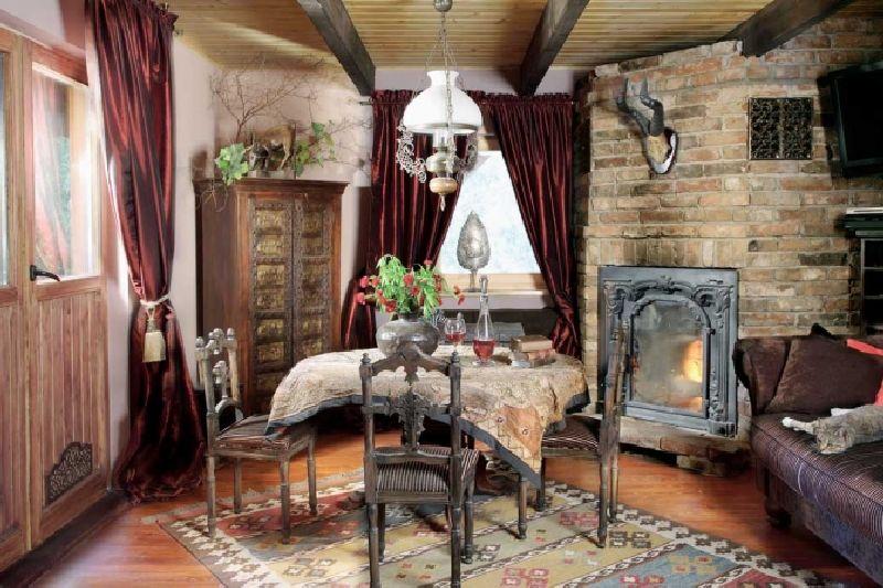 adelaparvu.com despre casa din lemn cu interior oriental, design interor Alice Kolodzie, Foto Marta Czynska, Weranda Country (6)
