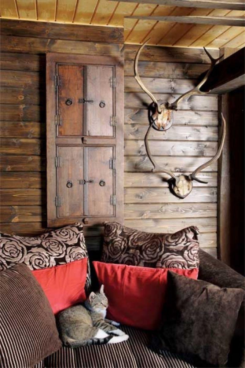 adelaparvu.com despre casa din lemn cu interior oriental, design interor Alice Kolodzie, Foto Marta Czynska, Weranda Country (7)
