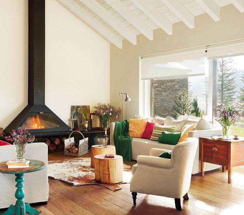 adelaparvu.com despre casa in Pirinei, casa Spania, decorator Patricia Pratmarsó, Foto ElMueble (1)