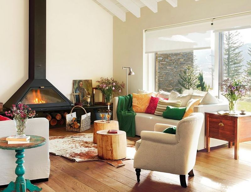 adelaparvu.com despre casa in Pirinei, casa Spania, decorator Patricia Pratmarsó, Foto ElMueble (21)
