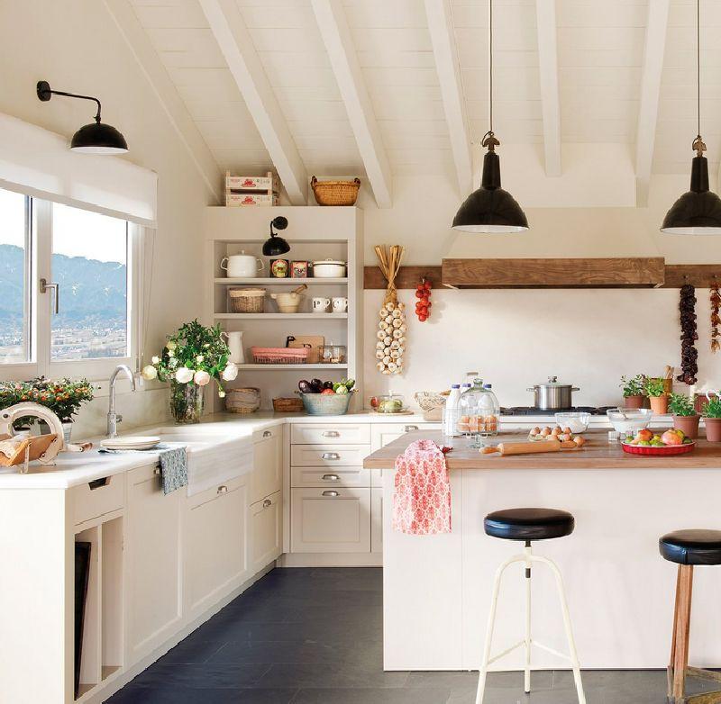 adelaparvu.com despre casa in Pirinei, casa Spania, decorator Patricia Pratmarsó, Foto ElMueble (6)