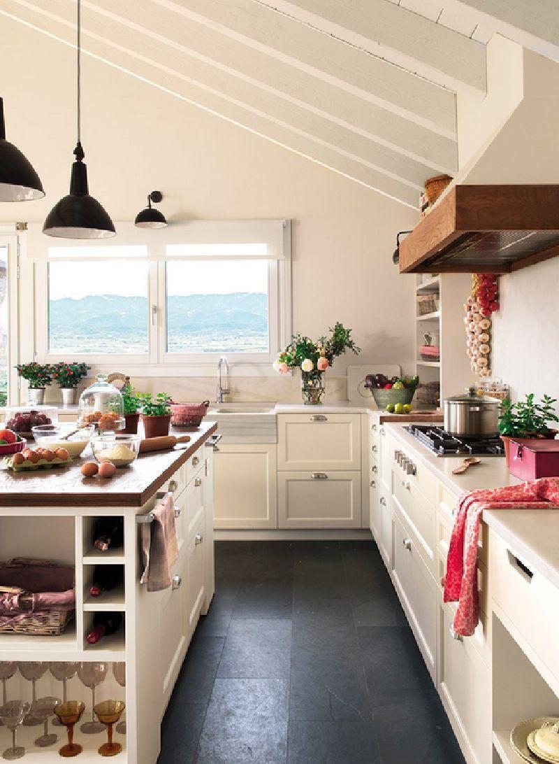 adelaparvu.com despre casa in Pirinei, casa Spania, decorator Patricia Pratmarsó, Foto ElMueble (8)