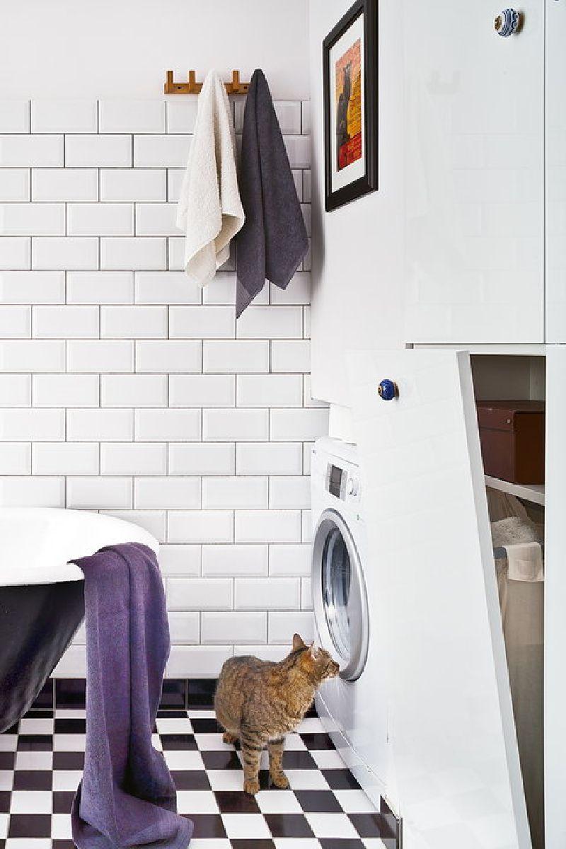 adelaparvu.com despre locuinta cu bucatarie pe hol, 80 mp, arhitect Dorota Janusiewicz, Foto Marcin Czechowicz (3)