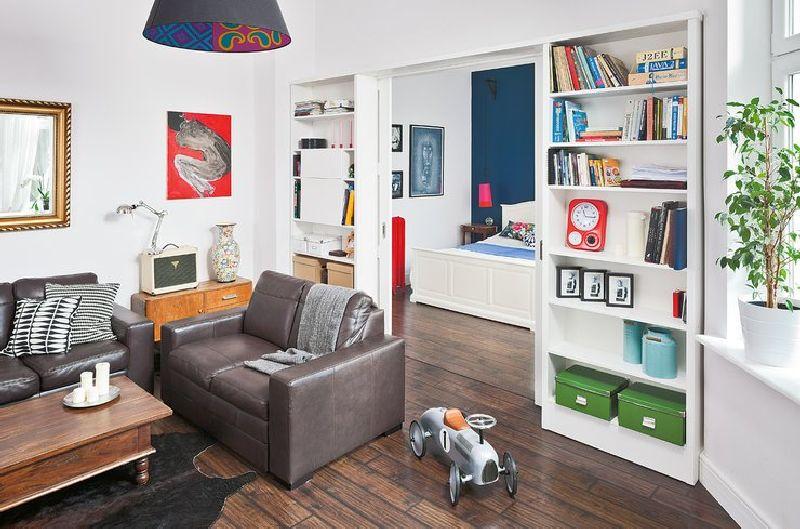 adelaparvu.com despre locuinta cu bucatarie pe hol, 80 mp, arhitect Dorota Janusiewicz, Foto Marcin Czechowicz (6)