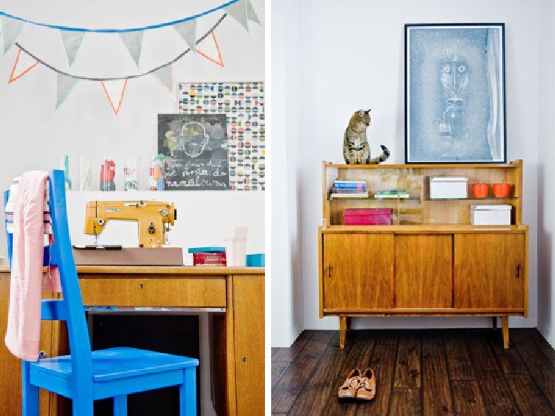 adelaparvu.com despre locuinta cu bucatarie pe hol, 80 mp, arhitect Dorota Janusiewicz, Foto Marcin Czechowicz (9)