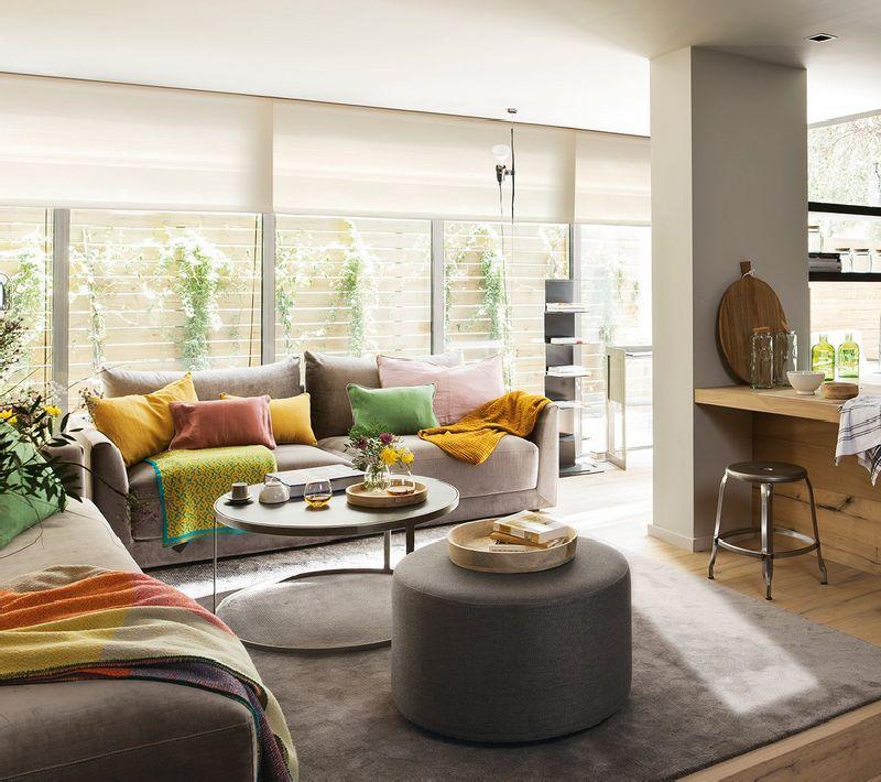 adelaparvu.com despre locuinta de bloc 53 mp, design interior Emma Masana, arhitect Antonio Cortines, Foto ElMueble (1)