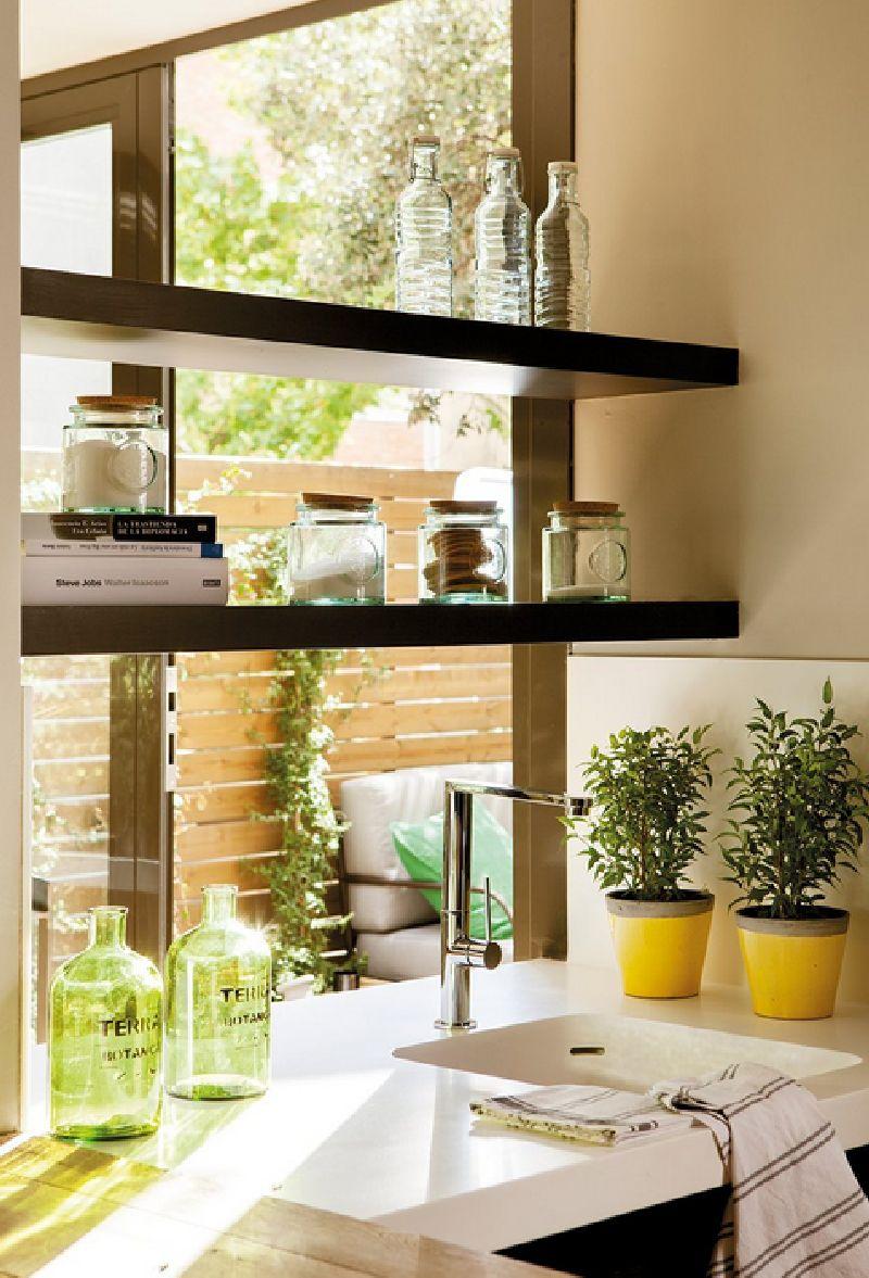 adelaparvu.com despre locuinta de bloc 53 mp, design interior Emma Masana, arhitect Antonio Cortines, Foto ElMueble (4)