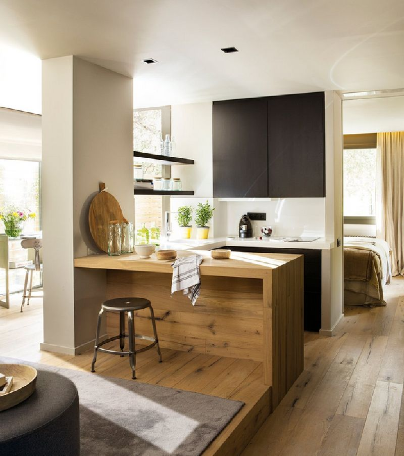adelaparvu.com despre locuinta de bloc 53 mp, design interior Emma Masana, arhitect Antonio Cortines, Foto ElMueble (5)