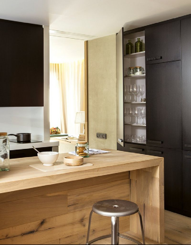 adelaparvu.com despre locuinta de bloc 53 mp, design interior Emma Masana, arhitect Antonio Cortines, Foto ElMueble (6)