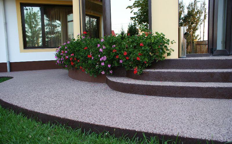 adelaparvu.com despre Evidecor, Tmisoara, fabrica de nisip si pietre decorative (11)