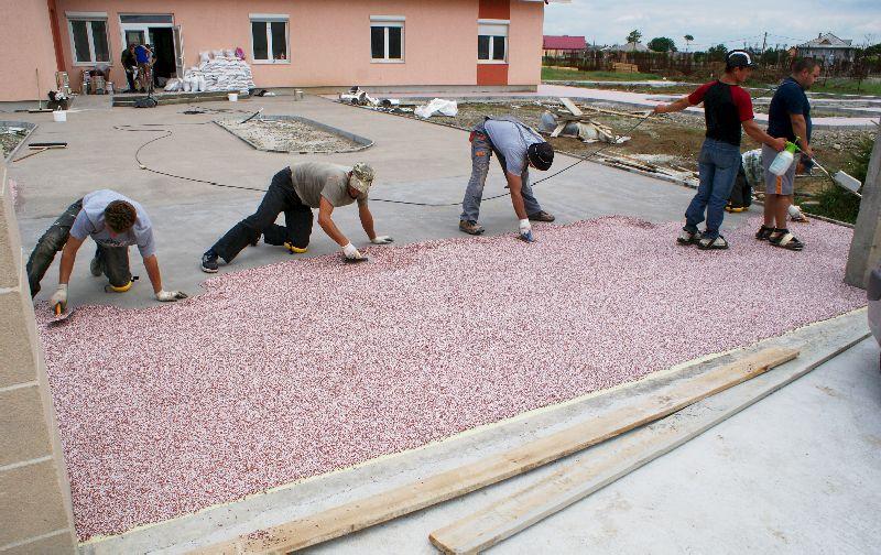 adelaparvu.com despre Evidecor, Tmisoara, fabrica de nisip si pietre decorative (12)