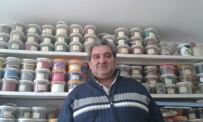 adelaparvu.com despre Evidecor, Tmisoara, fabrica de nisip si pietre decorative (20)