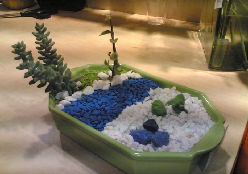 adelaparvu.com despre Evidecor, Tmisoara, fabrica de nisip si pietre decorative (8)