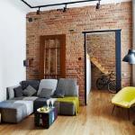 adelaparvu.com despre apartament 2 camere 54 mp, design interior Agnieszka Żyła, Foto Cztery Kąty (4)
