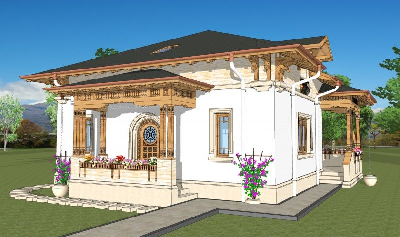 Căsuța de câmpie, arhitect Adrian Păun