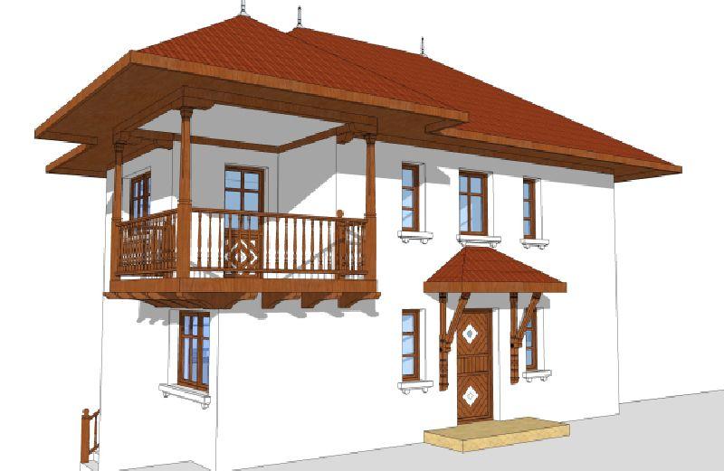 Conacul dintre vii, arhitect Adrian Păun