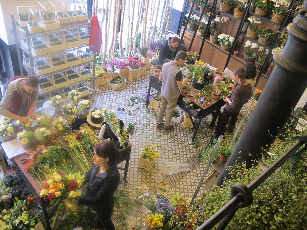 adelaparvu.com despre atelierul designerului florist Nicu Bocancea, Foraria Iris, design interior Pascal Delmotte (40)