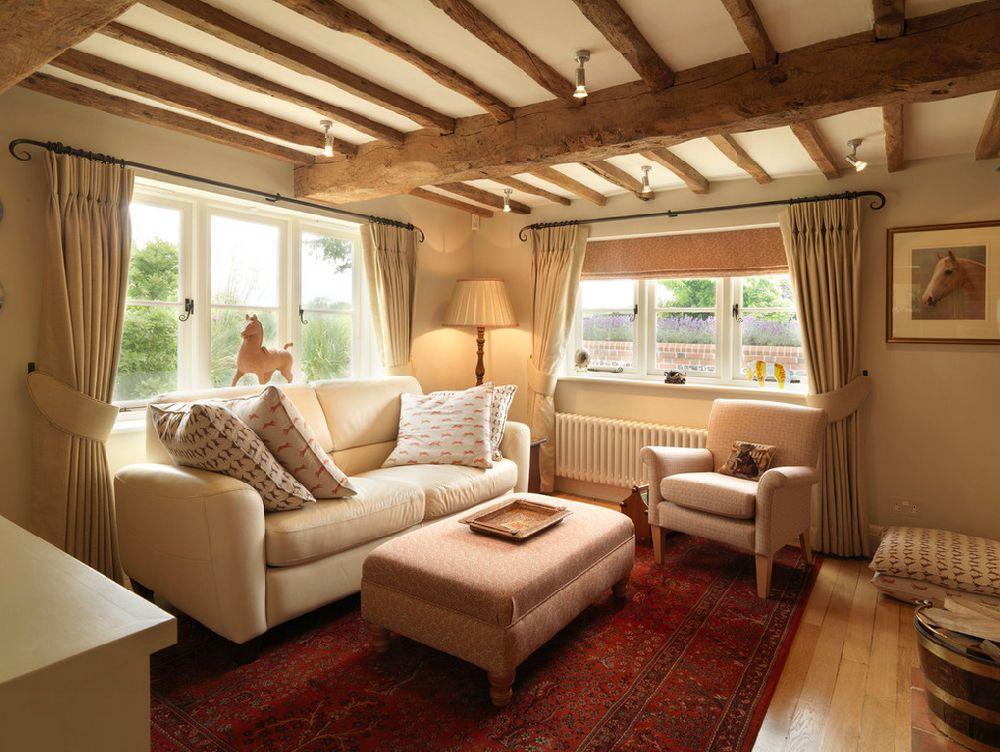 adelaparvu.com despre casa cu acoperis de stuf, casa veche sec XVII Anglia modernizata, design interior Icon Interios, Foto Steve Russell Studios (2)