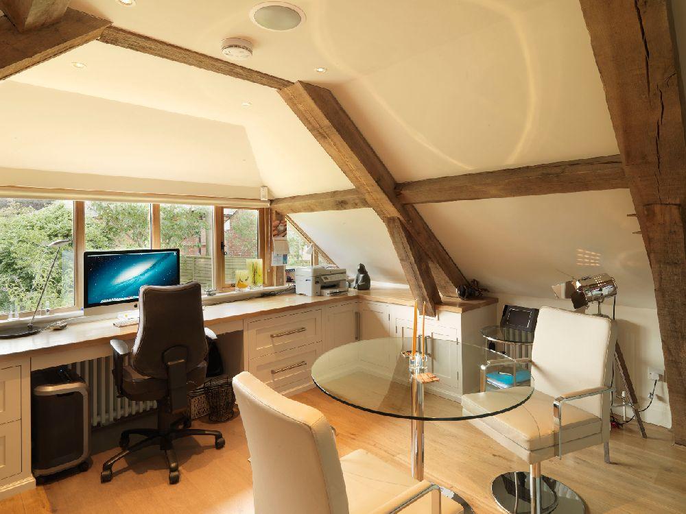 adelaparvu.com despre casa cu acoperis de stuf, casa veche sec XVII Anglia modernizata, design interior Icon Interios, Foto Steve Russell Studios (25)