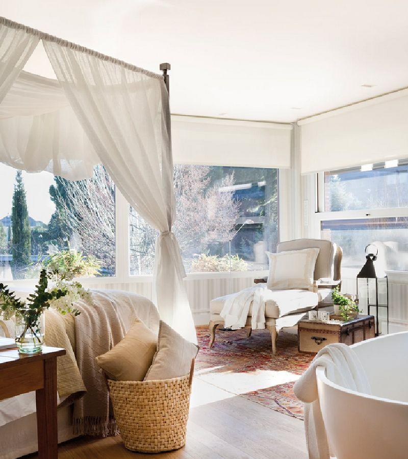 adelaparvu.com despre casa cu ferestre mari, inspirata de gradina, decorator Nela San Juan Galatas, Foto ElMueble (12)