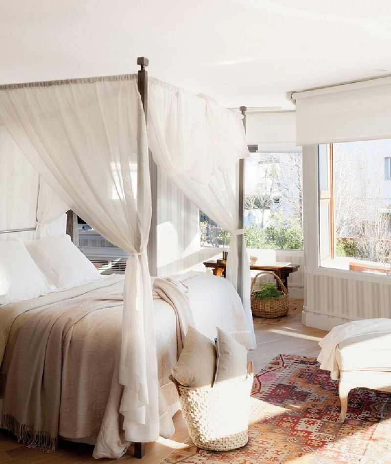 adelaparvu.com despre casa cu ferestre mari, inspirata de gradina, decorator Nela San Juan Galatas, Foto ElMueble (13)