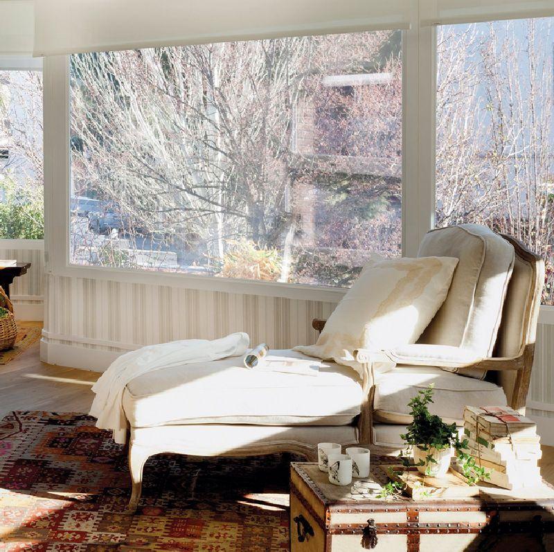 adelaparvu.com despre casa cu ferestre mari, inspirata de gradina, decorator Nela San Juan Galatas, Foto ElMueble (14)