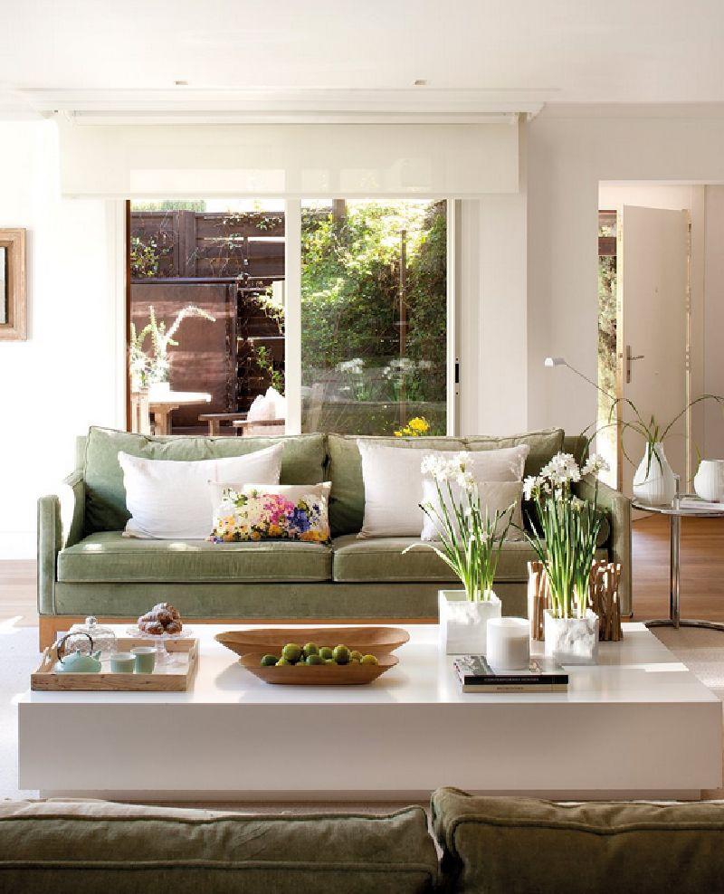adelaparvu.com despre casa cu ferestre mari, inspirata de gradina, decorator Nela San Juan Galatas, Foto ElMueble (5)
