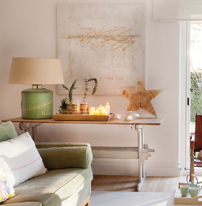 adelaparvu.com despre casa cu ferestre mari, inspirata de gradina, decorator Nela San Juan Galatas, Foto ElMueble (6)
